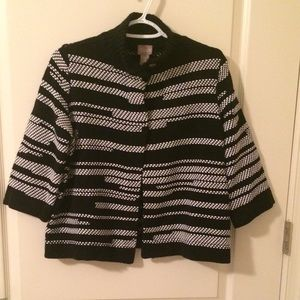 Chico's size 0/S/8-10 NWOT Cardigan Sweater